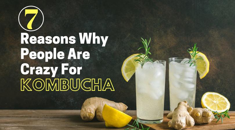The Health Benefits Of Kombucha